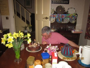 A big birthday for one of our former convenors